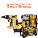 DEWALT Father's Day Garage Giveaway
