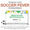 Amazon's Soccer Fever Sweeps