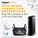 Amazon's High-Speed Connection Sweepstakes