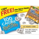 100 Calorie Right Bites™ Keebler® White Fudge Dipped Pretzels