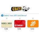 $10 Gift Card to Target & Home Depot